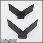 Corner Mount Blade Sign Bracket Adapter