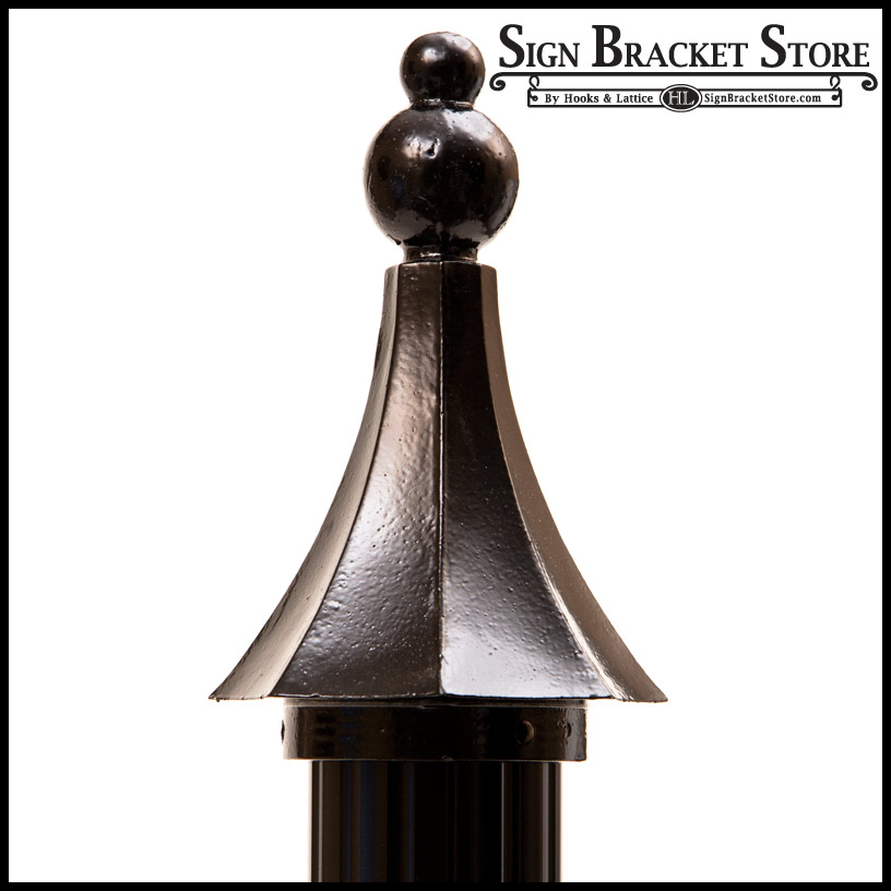Addding a touch of whimsy with the Arrow Style Finial.