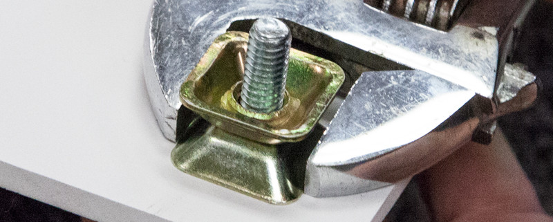 Sign Security Hardware - Square Tapered Nut (3 sizes)