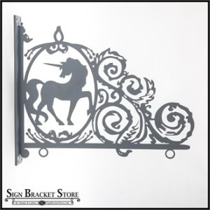 Silhouette Sign Bracket