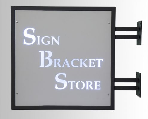 LED Backlit Custom Signage by Sign Bracket Store