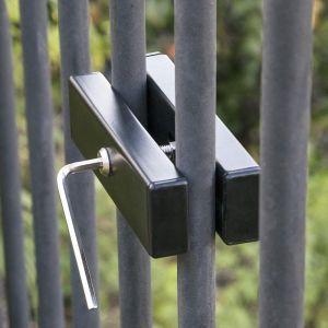 Wrought Iron Fence Holder